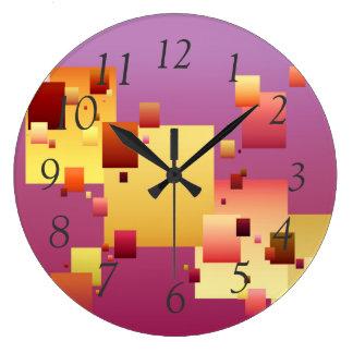Blockage Large Clock