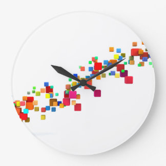 Blockchain Technology as a Creative Business Large Clock