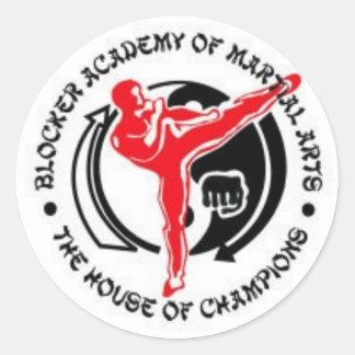 Blocker Academy of Martial Arts Sticker