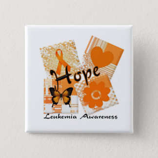 Blocks of Hope 2 Inch Square Button