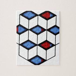 Blocks of Illusion Puzzles