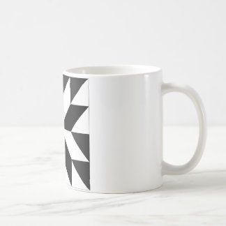 blocos geométricos classic white coffee mug