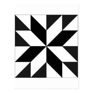 blocos geométricos postcard