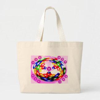 Blocs dans une bulle sac en toile jumbo