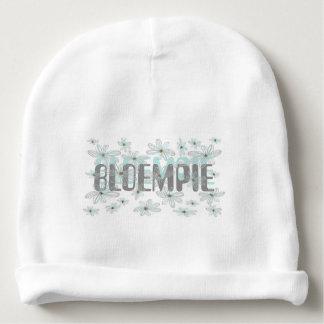 Bloempie - bonnet baby flower bloemenprint baby beanie