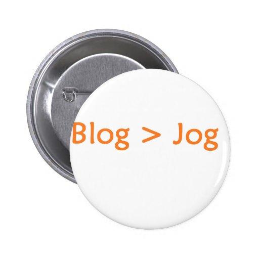 blog orange pin
