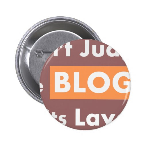 Blog quotes Don't Judge Buttons