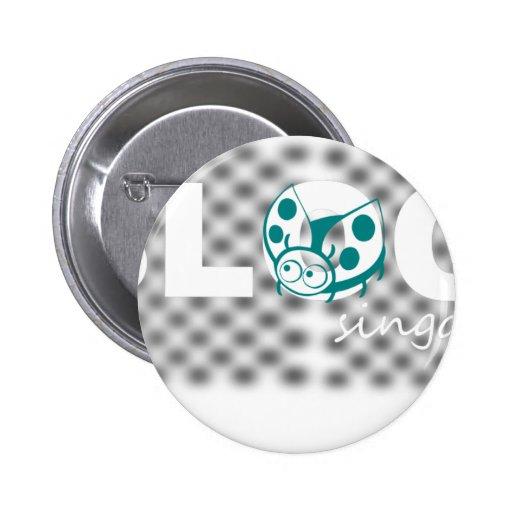 Blog signature design pins