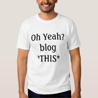 blog this t-shirt
