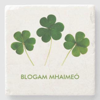 Blogam Mhaimeó: Irish Grandma's Cuppa Shamrock Stone Coaster