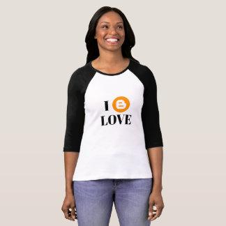 Blogger Fan 3/4 Sleeve Raglan T-Shirt