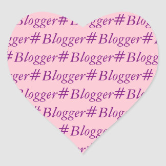 #Blogger Sticker - word wrapped