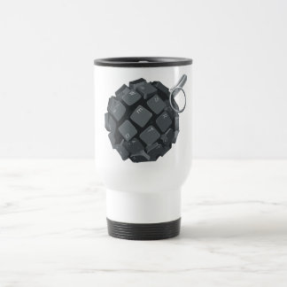 Bloggers grenade travel mug