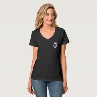 Bloggess Pals Top Shelf Pocket V-Neck Tee