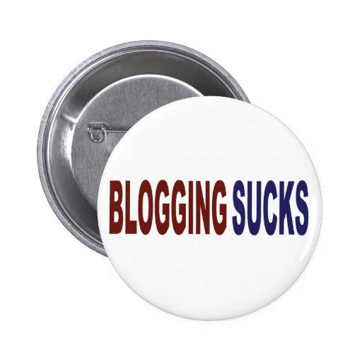 Blogging Sucks Button