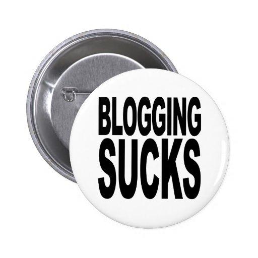 Blogging Sucks Buttons