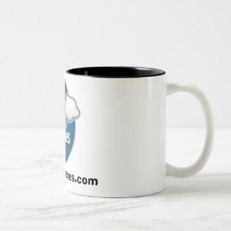 BlogMemes Two-Tone Coffee Mug