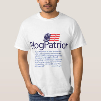 BlogPatriot Douglass Quote T-Shirt