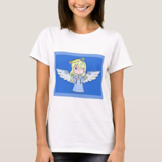 Blond Angel Cartoon Art. T-Shirt