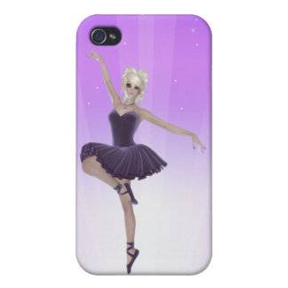 Blond Ballerina iPhone 4 Matte Finish Case Case For iPhone 4