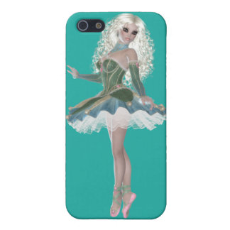 Blond Ballerina Lady iPhone 5/5S Matte Finish Case iPhone 5/5S Cases