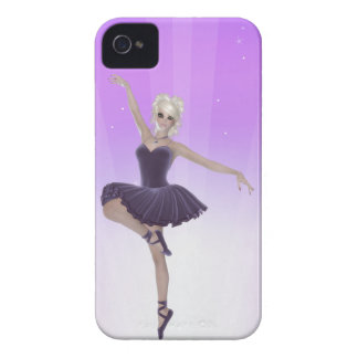 Blond Ballerina Woman iPhone 4, Barely There Case