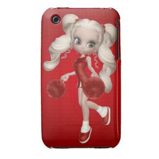 Blond Cheerleader iPhone Case