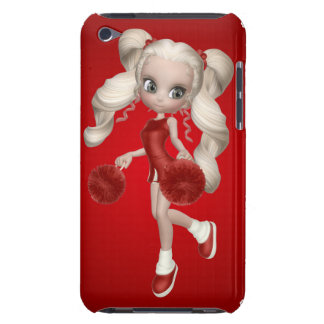 Blond Cheerleader iPod Touch Case