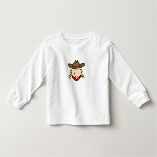 Blond Cowgirl Toddler T-shirt