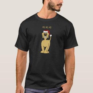 blond Doodle Santa T-Shirt