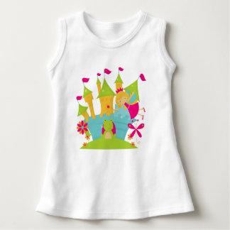 Blond Fairy Princess Baby Sleeveless Dress