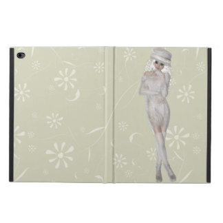 Blond Girl iPad Air 2 Case with No Kickstand