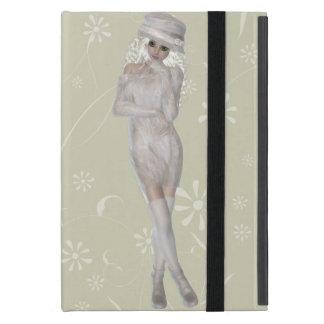 Blond Girl iPad Mini Case with No Kickstand