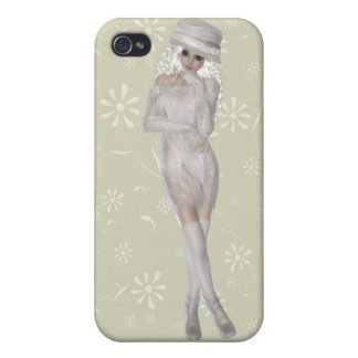 Blond Girl iPhone 4 Matte Finish Case Cases For iPhone 4