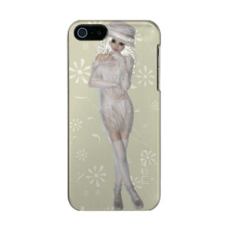 Blond Girl iPhone 5/5s Feather® Shine, Gold Case Incipio Feather® Shine iPhone 5 Case