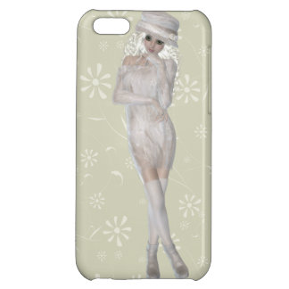Blond Girl iPhone 5C Glossy Finish Case Cover For iPhone 5C