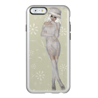 Blond Girl iPhone 6/6s Feather® Shine, Silver Incipio Feather® Shine iPhone 6 Case