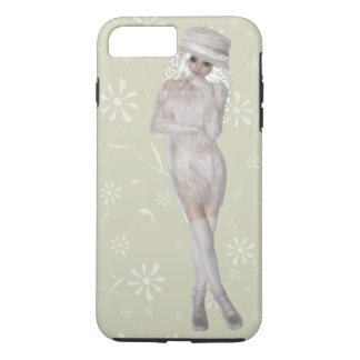 Blond Girl iPhone 7 Plus, Tough Case
