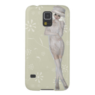 Blond Girl Samsung Galaxy S5, Barely There Galaxy S5 Cases