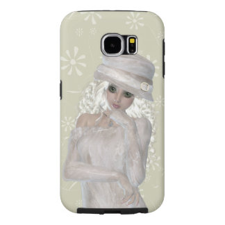 Blond Girl Samsung Galaxy S6, Tough Case