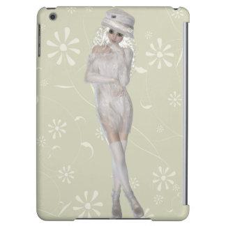 Blond Girl Savvy Glossy iPad Air Case