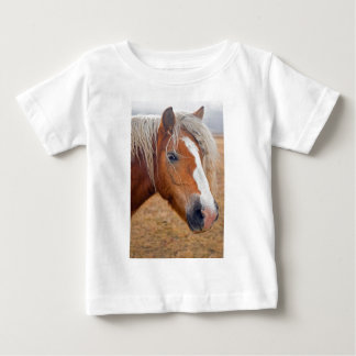 Blond Horse Baby T-Shirt