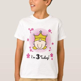 Blond Princess 3rd Birthday Tshirts & Gifts