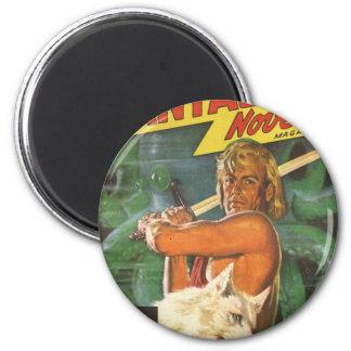 Blond Swordsman Magnet