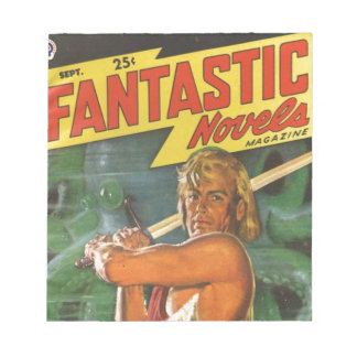 Blond Swordsman Notepad
