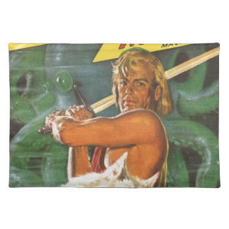 Blond Swordsman Placemat