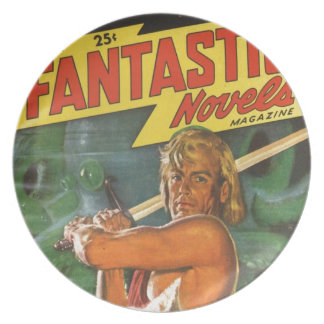 Blond Swordsman Plate