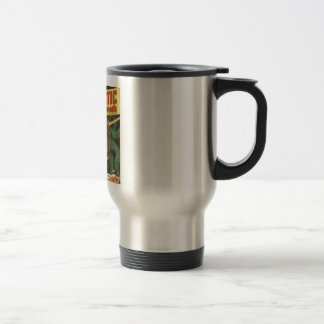 Blond Swordsman Travel Mug