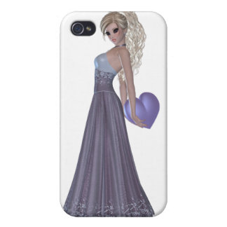 Blond Woman  iPhone 4 Matte Finish Case iPhone 4/4S Cases