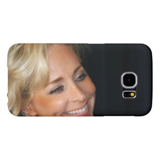 Blond Woman Smiling Samsung Galaxy S6 Cases